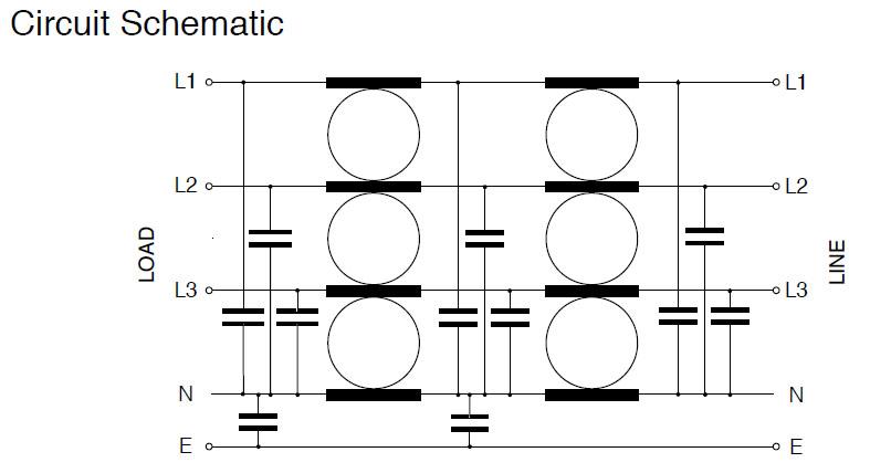 Three Phase + N DLC Circuit