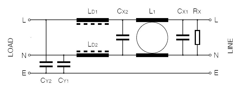 RF 1XX - 2M Single Phase Circuit