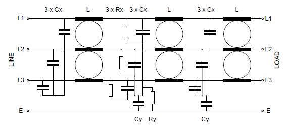 Three Phase MHU 6-50A Circuit