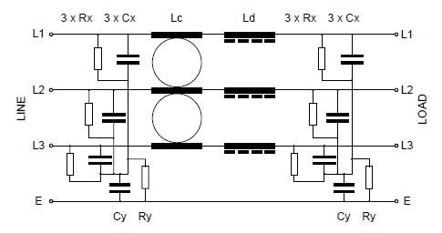 Three Phase MHU 70-180A Circuit